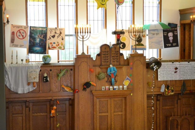 Celebrating Genesis at Temple Beth El