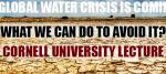 A Global Water Crisis Is Coming & What We Can Do To Prevent It