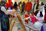 Balloon Fun at the Purim Carnival
